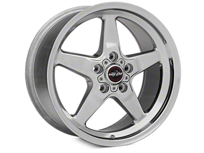 Polished Race Star Wheels<br />('05-'09 Mustang)