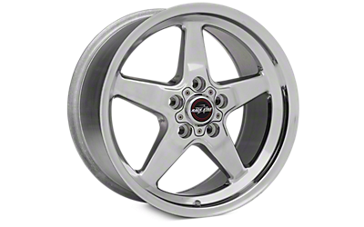Polished Race Star Wheels 2005-2009