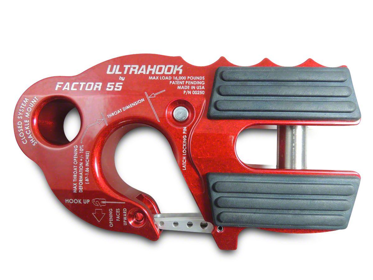 Factor 55 UltraHook - Red (02-19 RAM 1500)