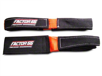 Factor 55 Shorty Strap II - 3 ft. x 2 in. (02-19 RAM 1500)