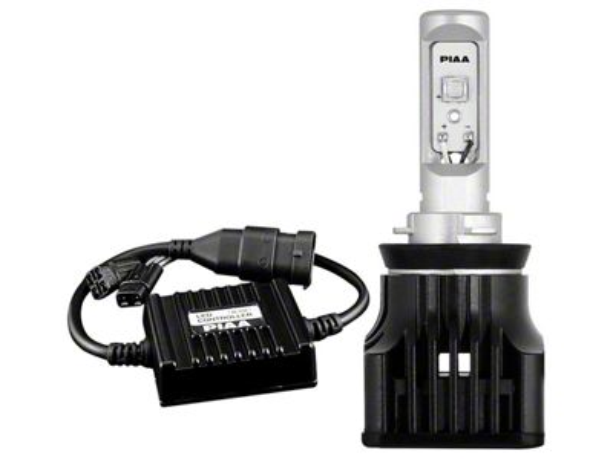 PIAA High Output White LED Low Beam Light Bulb - H11 (09-18 RAM 1500 w/ Quad Headlights)