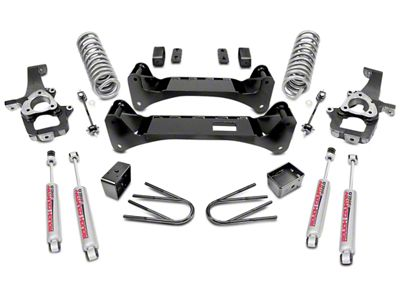 Rough Country 6 in. Suspension Lift Kit (02-05 2WD RAM 1500)