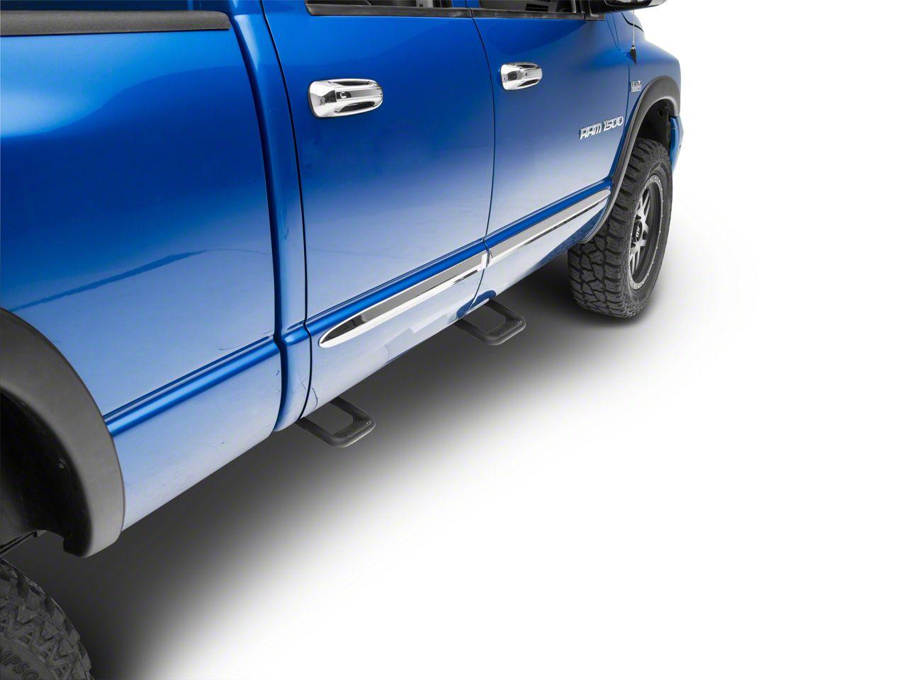 Carr Hoop II Steps - Black (02-08 RAM 1500)