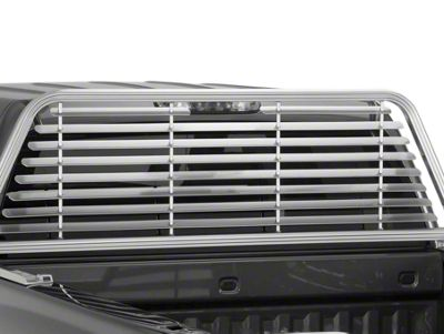 Husky Rear Window Sunshade - Silver (02-18 RAM 1500)