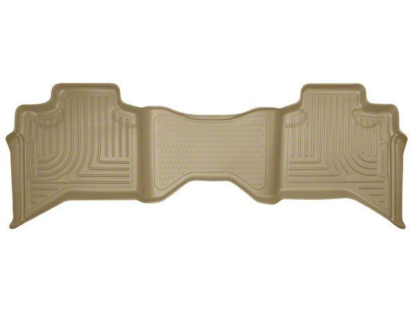 Husky WeatherBeater 2nd Seat Floor Liner - Tan (02-08 RAM 1500 Quad Cab)