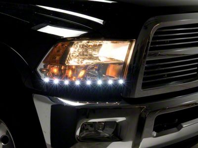 Putco LED Dayliner G2 Kit - Polished (09-18 RAM 1500)