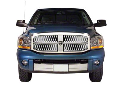 Putco Designer FX Honeycomb Upper Replacement Grilles - Polished (06-08 RAM 1500)