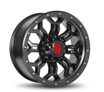 Havok Off-Road H108 Matte Black 5-Lug Wheel - 20x9 (02-18 RAM 1500, Excluding Mega Cab)