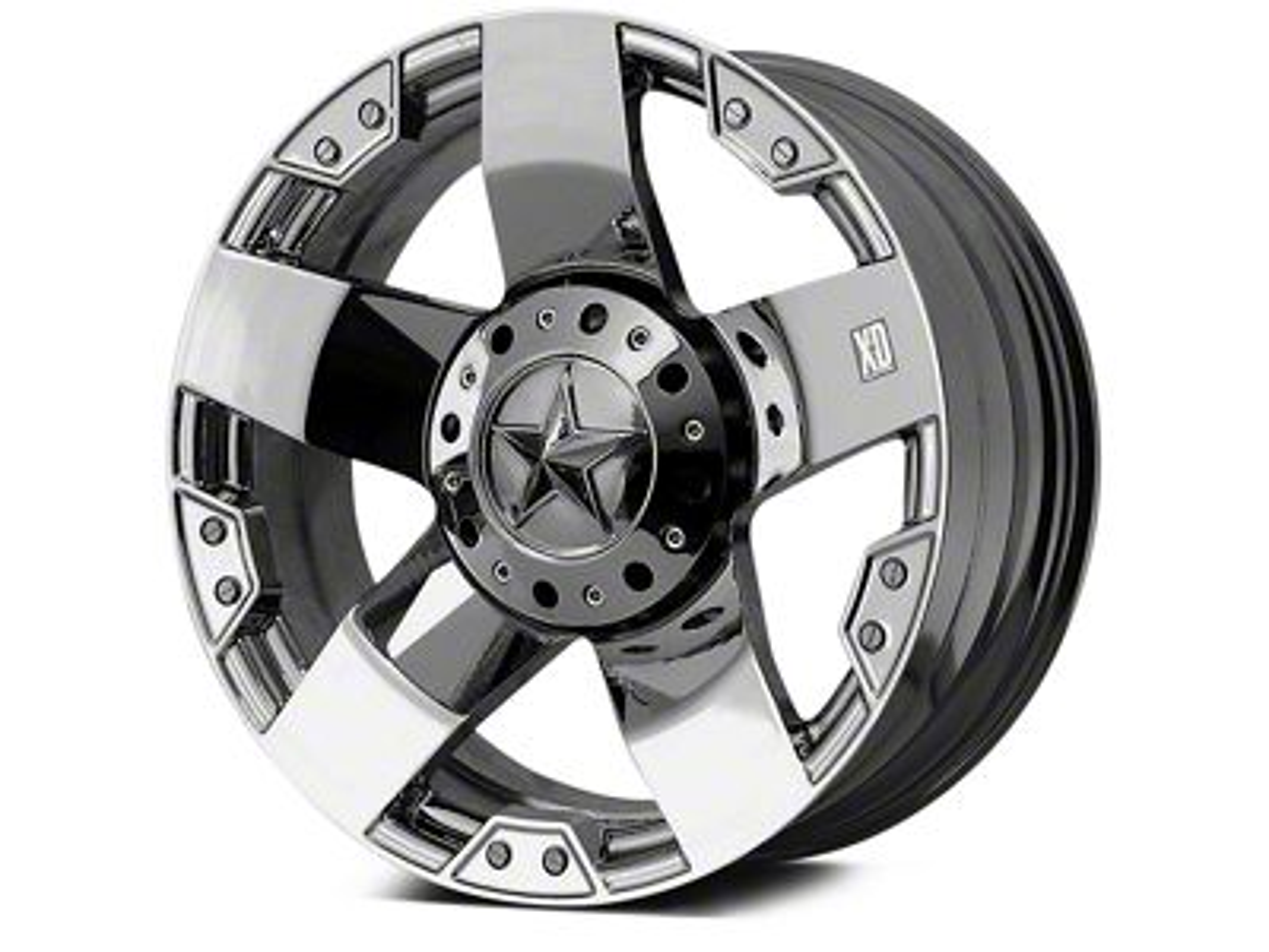 Rockstar XD775 Chrome 5-Lug Wheel - 20x10 (02-18 RAM 1500, Excluding Mega Cab)