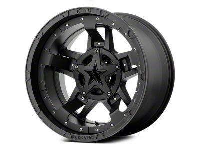 Rockstar XD827 RS3 Matte Black 5-Lug Wheel - 22x12 (02-18 RAM 1500, Excluding Mega Cab)