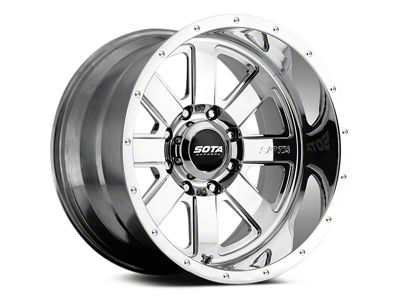 SOTA Off Road A.W.O.L. Polished 5-Lug Wheel - 20x9 (02-18 RAM 1500, Excluding Mega Cab)