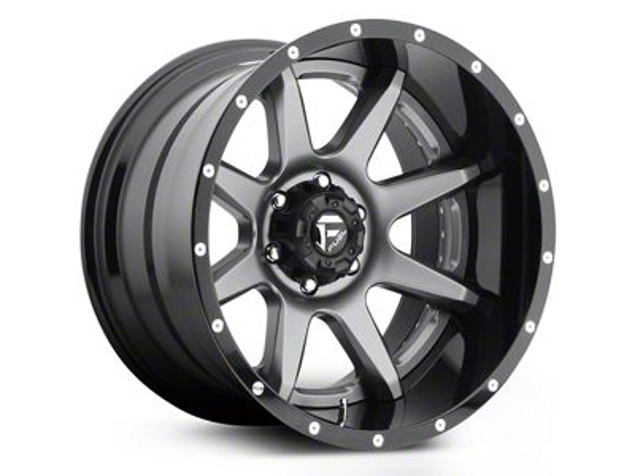 Fuel Wheels Rampage Chrome 5-Lug Wheel - 20x10 (02-18 RAM 1500, Excluding Mega Cab)