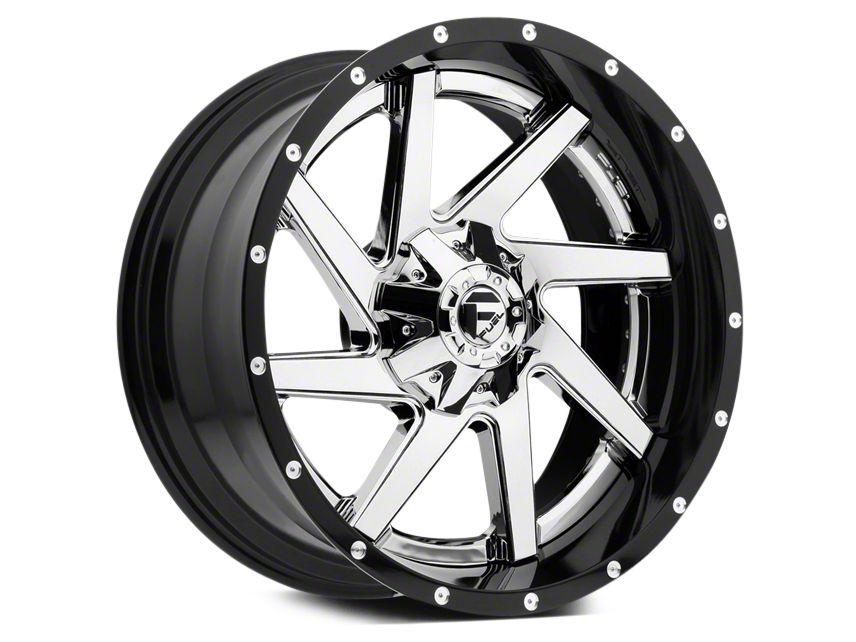 Fuel Wheels Renegade Black & Chrome 5-Lug Wheel - 20x10 (02-18 RAM 1500, Excluding Mega Cab)