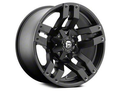 Fuel Wheels Black Matte Pump 5-Lug Wheel 20x10 (02-18 RAM 1500, Excluding Mega Cab)