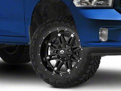 Fuel Wheels Black Matte Hostage 5-Lug Wheel 20x10 (02-18 RAM 1500, Excluding Mega Cab)