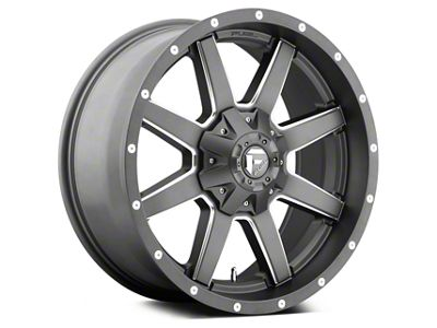 Fuel Wheels Maverick Matte GunMetal 5-Lug Wheel - 20x9 (02-18 RAM 1500, Excluding Mega Cab)