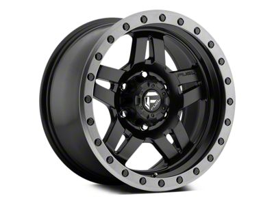 Fuel Wheels Anza Matte Black w/ Anthracite Ring 5-Lug Wheel - 17x8.5 (02-18 RAM 1500, Excluding Mega Cab)