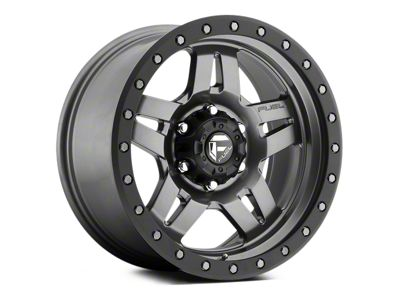 Fuel Wheels Anza Anthracite w/ Black Ring 5-Lug Wheel - 17x8.5 (02-18 RAM 1500, Excluding Mega Cab)