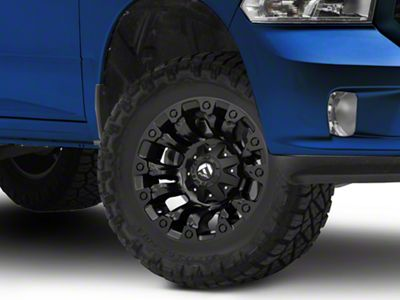 Fuel Wheels Vapor Matte Black 5-Lug Wheel - 17x9 (02-18 RAM 1500, Excluding Mega Cab)