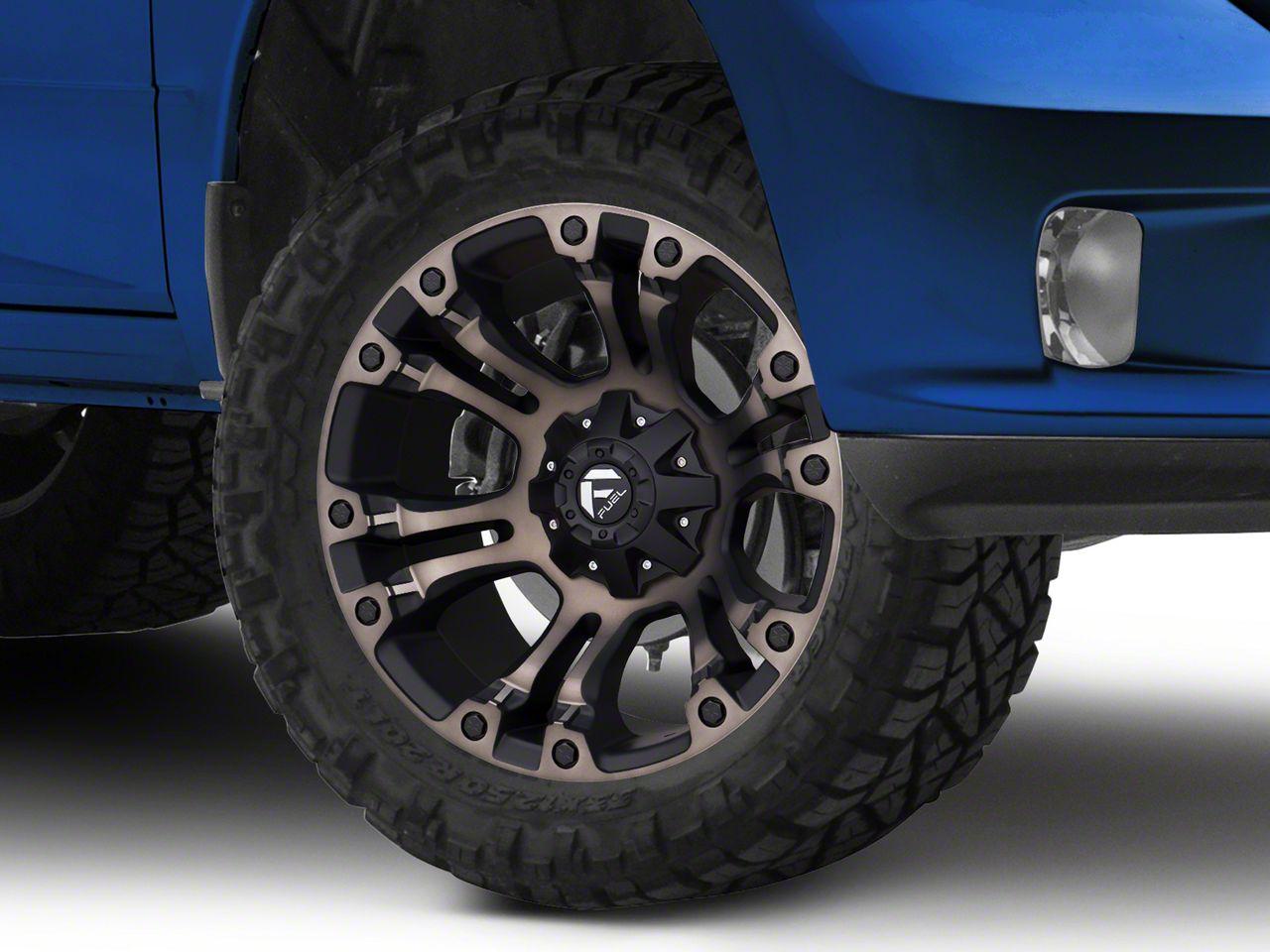 Fuel Wheels Vapor Black Machined w/ Dark Tint 5-Lug Wheel - 20x10 (02-18 RAM 1500, Excluding Mega Cab)