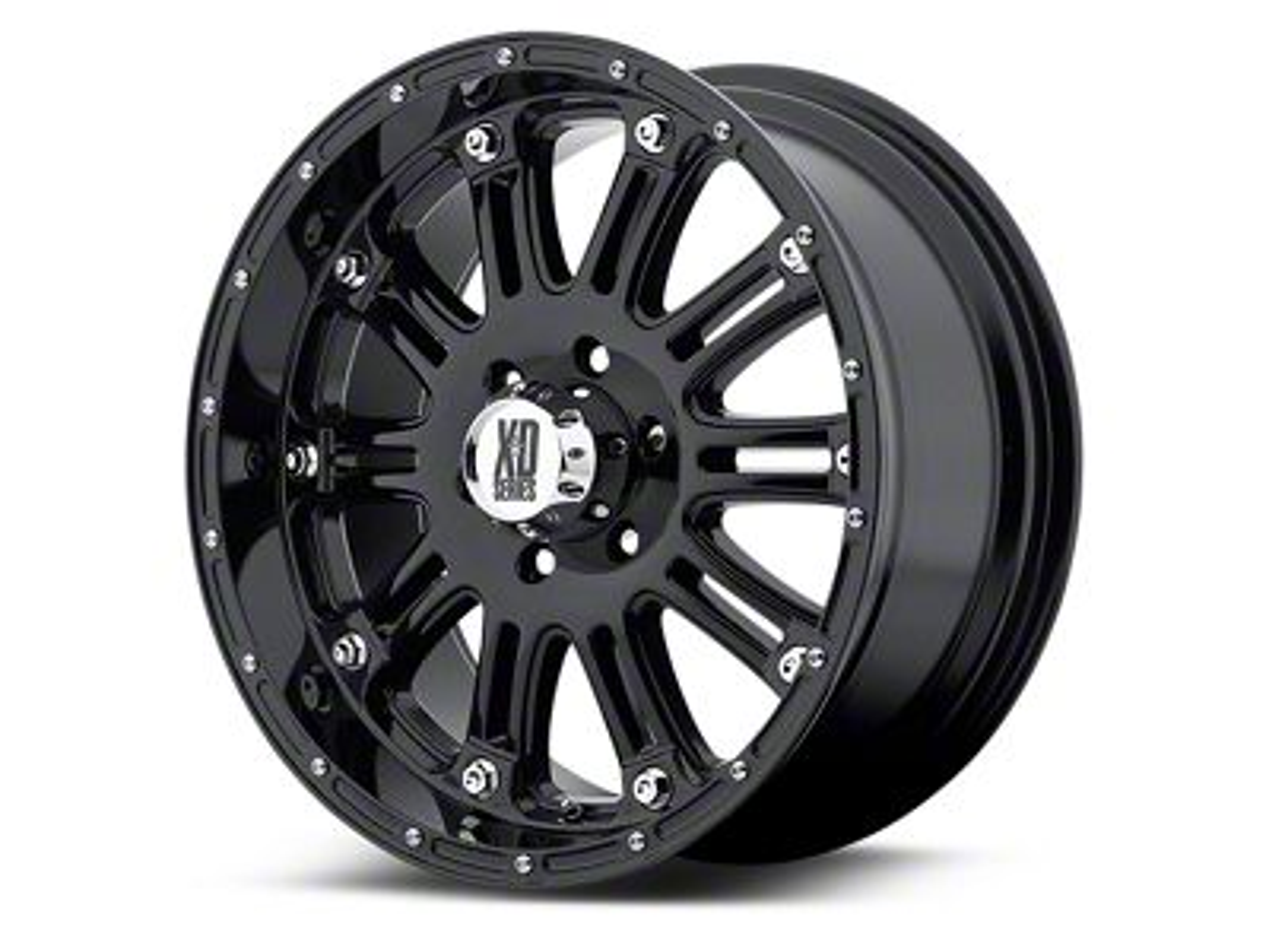 XD Hoss Gloss Black 5-Lug Wheel - 20x9 (02-18 RAM 1500, Excluding Mega Cab)