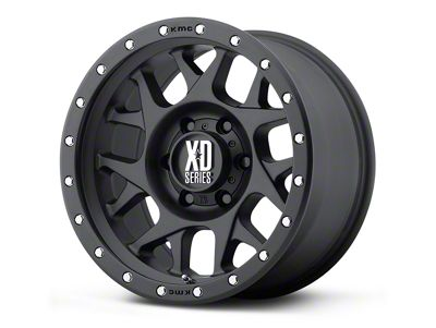 XD Bully Satin Black 5-Lug Wheel - 20x10 (02-18 RAM 1500, Excluding Mega Cab)