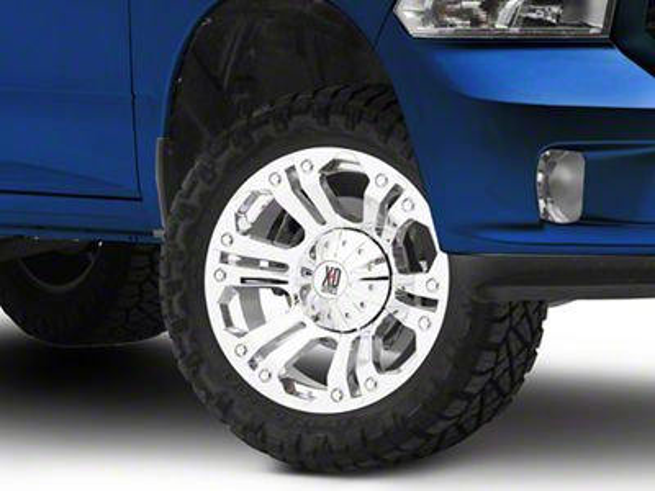 XD Monster Chrome 5-Lug Wheel - 20x10 (02-18 RAM 1500, Excluding Mega Cab)