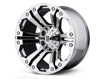 XD Monster Chrome 5-Lug Wheel - 22x9.5 (02-18 RAM 1500, Excluding Mega Cab)