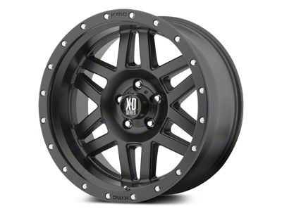 XD Machete Satin Black 5-Lug Wheel - 20x9 (02-18 RAM 1500, Excluding Mega Cab)
