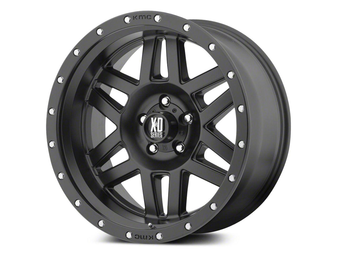 XD Machete Satin Black 5-Lug Wheel - 17x9 (02-18 RAM 1500, Excluding Mega Cab)