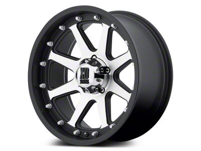XD Addict Matte Black Machined 5-Lug Wheel - 20x9 (02-18 RAM 1500, Excluding Mega Cab)