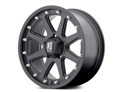 XD Addict Matte Black 5-Lug Wheel - 20x9 (02-18 RAM 1500, Excluding Mega Cab)