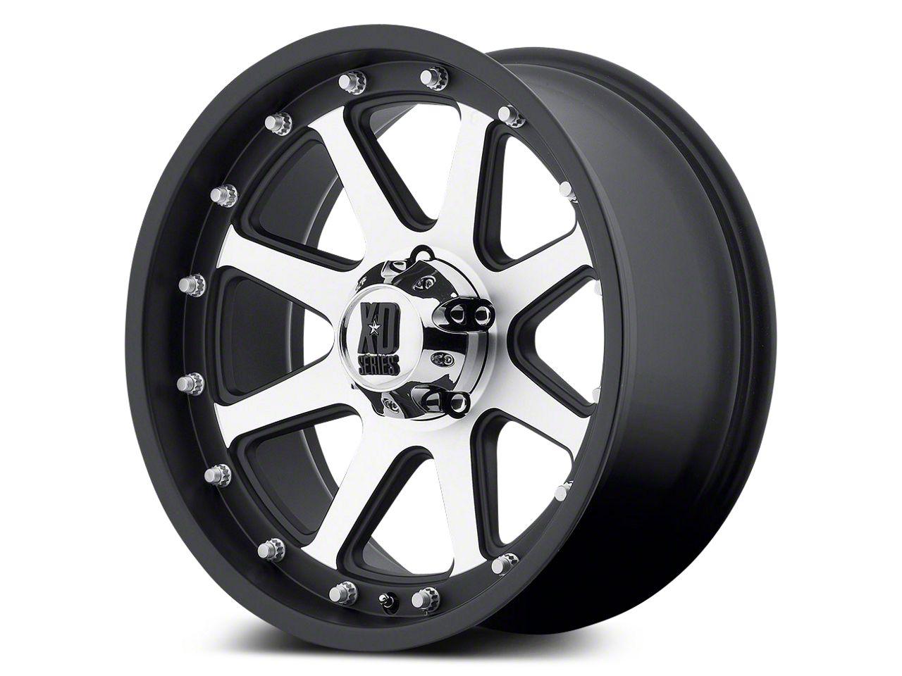 XD Addict Matte Black Machined 5-Lug Wheel - 18x9 (02-18 RAM 1500, Excluding Mega Cab)
