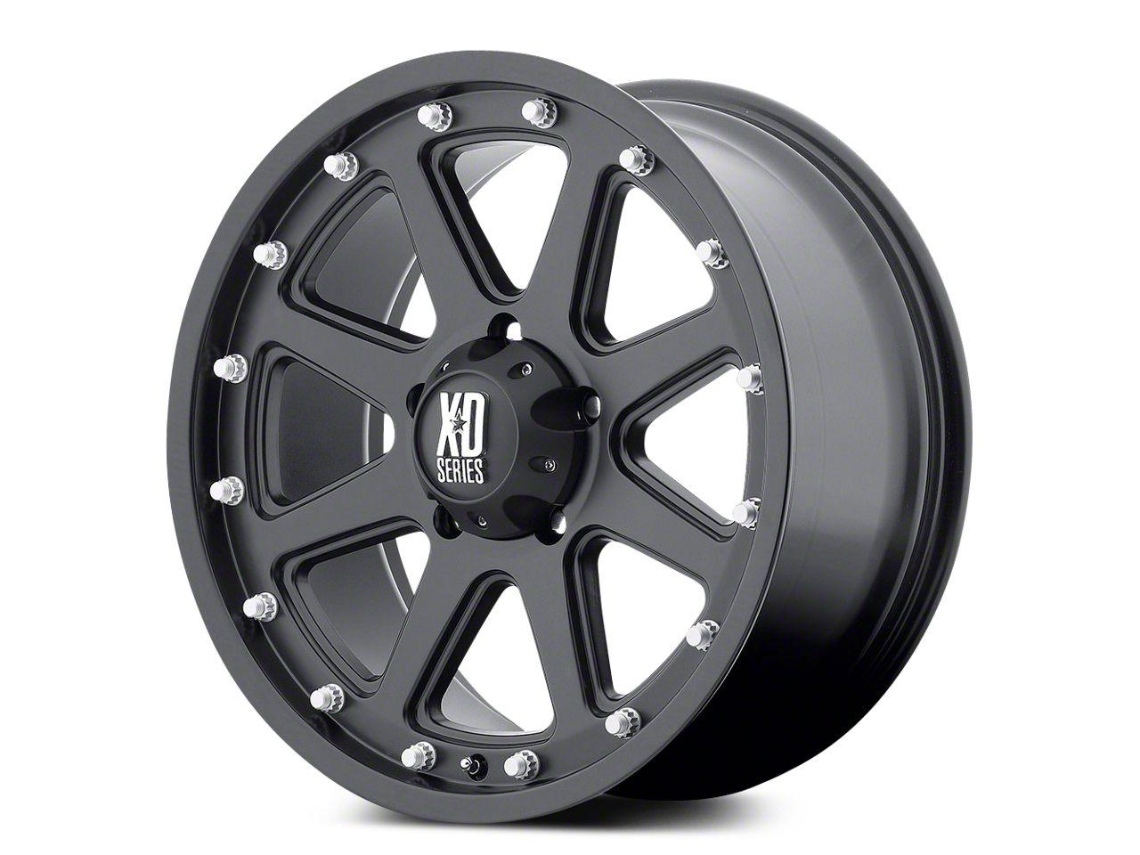 XD Addict Matte Black 5-Lug Wheel - 18x9 (02-18 RAM 1500, Excluding Mega Cab)