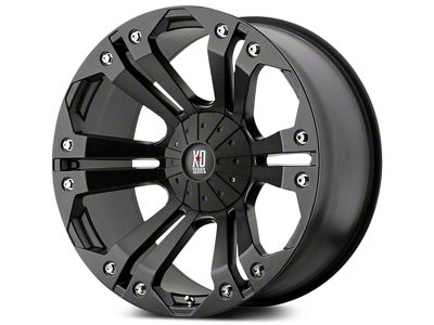 XD Monster Matte Black 5-Lug Wheel - 20x9 (02-18 RAM 1500, Excluding Mega Cab)