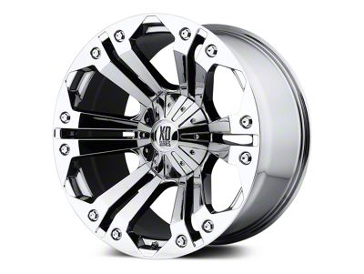 XD Monster Chrome 5-Lug Wheel - 18x9 (02-18 RAM 1500, Excluding Mega Cab)