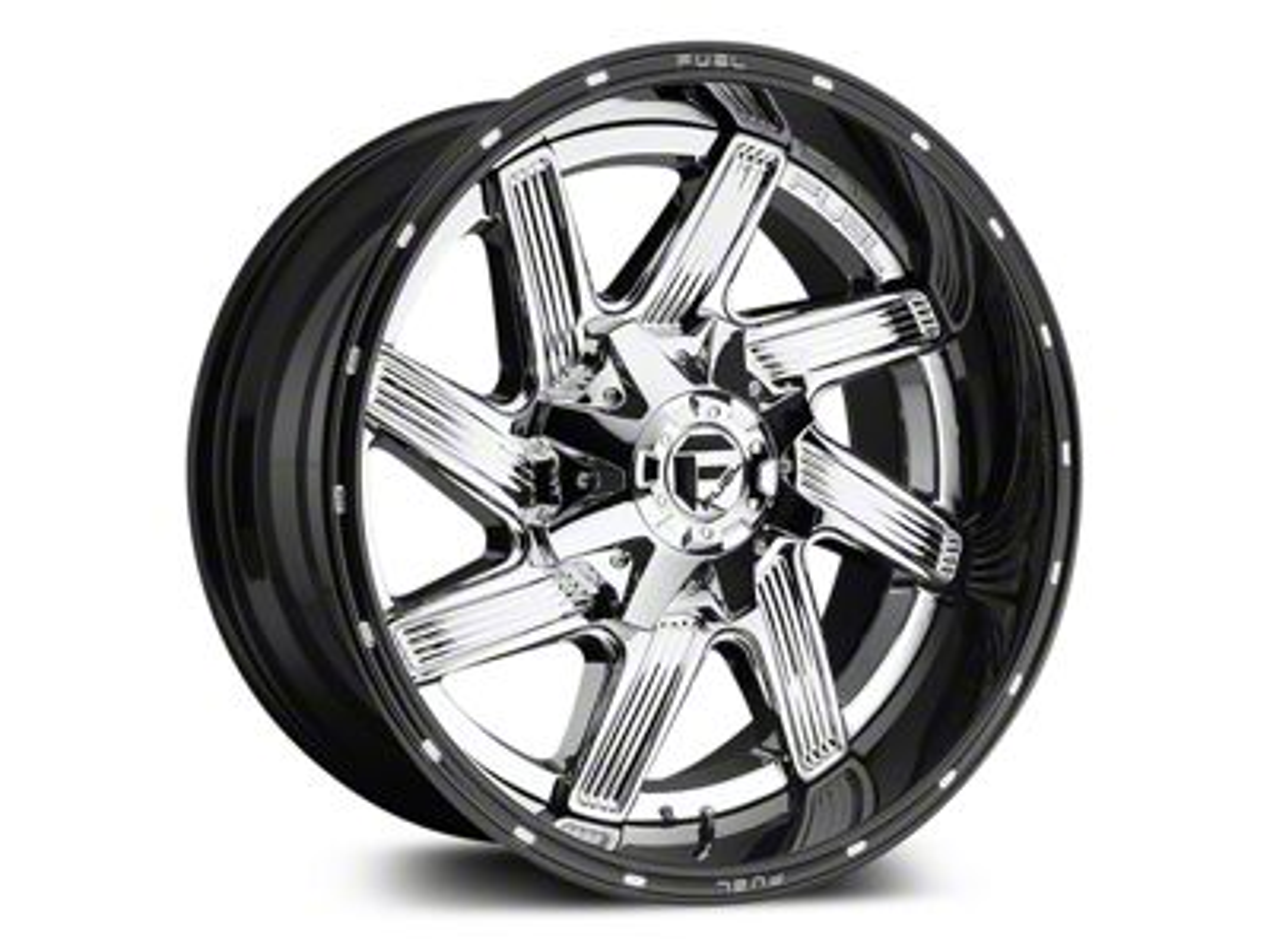 Fuel Wheels Moab Chrome 5-Lug Wheel - 20x9 (02-18 RAM 1500, Excluding Mega Cab)