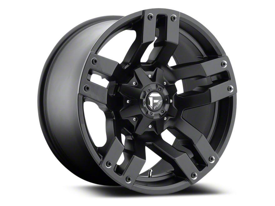 Fuel Wheels Pump Matte Black 5-Lug Wheel - 18x9 (02-18 RAM 1500, Excluding Mega Cab)