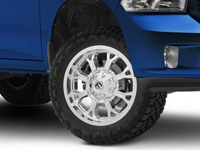Fuel Wheels Krank Chrome 5-Lug Wheel - 20x9 (02-18 RAM 1500, Excluding Mega Cab)