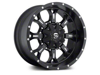 Fuel Wheels Krank Black Milled 5-Lug Wheel - 18x9 (02-18 RAM 1500, Excluding Mega Cab)