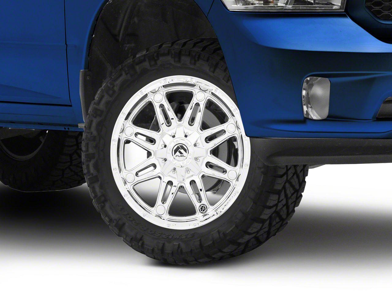 Fuel Wheels Hostage Chrome 5-Lug Wheel - 20x9 (02-18 RAM 1500, Excluding Mega Cab)