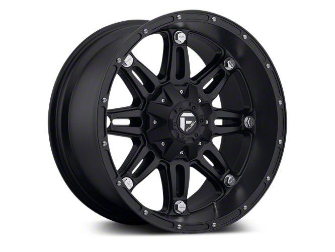 Fuel Wheels Hostage Matte Black 5-Lug Wheel - 18x9 (02-18 RAM 1500, Excluding Mega Cab)