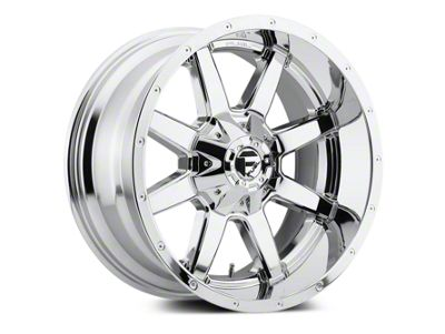 Fuel Wheels Maverick Chrome 5-Lug Wheel - 20x10 (02-18 RAM 1500, Excluding Mega Cab)