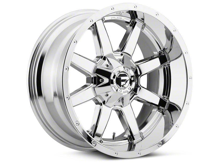 Fuel Wheels Maverick Chrome 5-Lug Wheel - 20x9 (02-18 RAM 1500, Excluding Mega Cab)