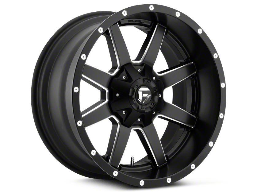 Fuel Wheels Maverick Black Milled 5-Lug Wheel - 20x10 (02-18 RAM 1500, Excluding Mega Cab)