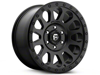 Fuel Wheels Vector Matte Black 5-Lug Wheel - 20x9 (02-18 RAM 1500, Excluding Mega Cab)