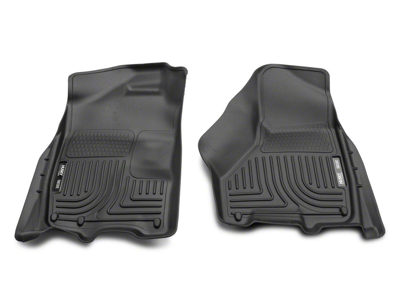 Husky WeatherBeater Front Floor Liners - Black (02-18 RAM 1500)