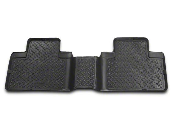 Husky Classic 2nd Seat Floor Liner - Black (09-18 RAM 1500 Quad Cab, Crew Cab)