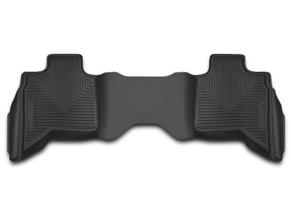 Husky X-Act Contour 2nd Seat Floor Liner - Black (02-18 RAM 1500 Quad Cab, Crew Cab)