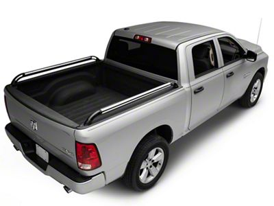 Putco Nylon Boss Locker Side Bed Rails (09-18 RAM 1500 w/o Ram Box)
